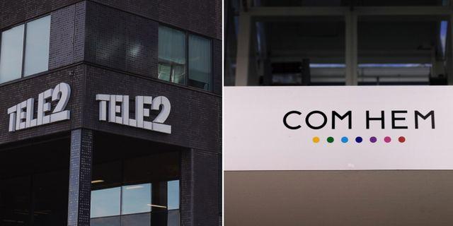 EU-kommissionen har godkänt sammanslagningen av Tele2 och Com Hem