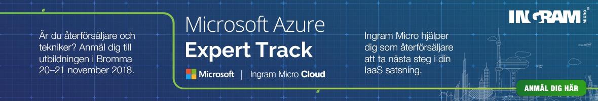Azure Expert Track med Ingram Micro 1