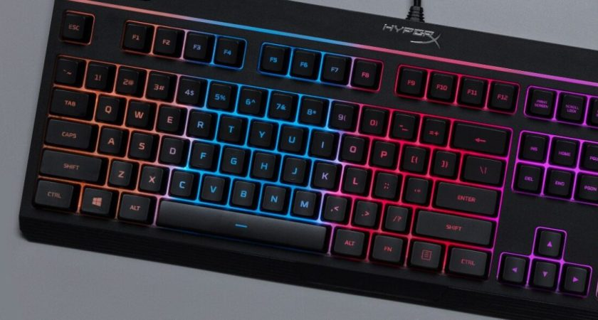 HyperX lanserar gamingtangentbordet Alloy Core RGB