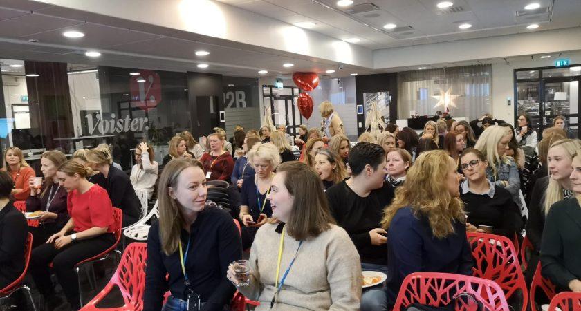 God stämning när Women in Tech nätverket möttes hos Atea