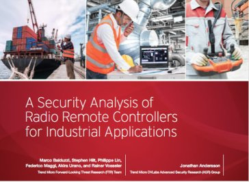 Rapport från Trend Micro avslöjar säkerhetsrisker inom industrin 1