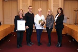 Varbergs kommun får InExchange miljöpris 1