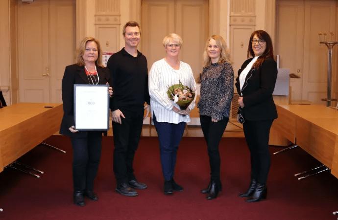 Varbergs kommun får InExchange miljöpris