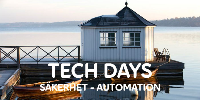 Cygates event – TECH DAYS 2019