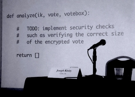 Demokratihack: Kan valprocessen skyddas?