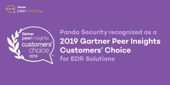 Panda Security har fått utmärkelsen 2019 Gartner Peer Insights Customers' Choice for EDR Solutions 1