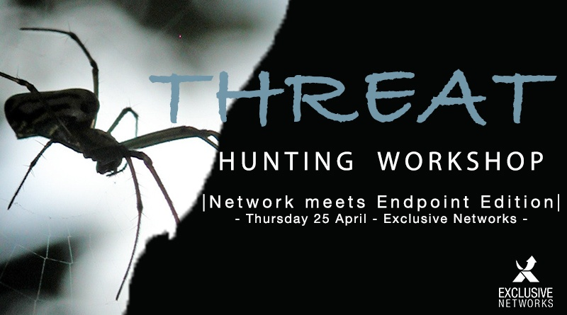 Threat Hunting Workshop with Exclusive Networks – April 25