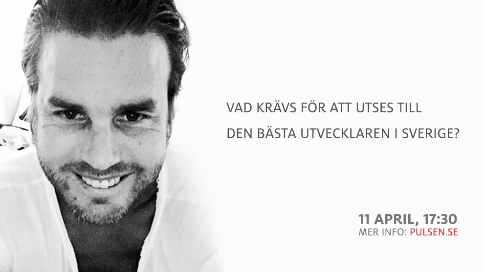 Vad krävs för att utses till Sveriges bästa utvecklare? 1