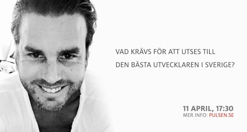 Vad krävs för att utses till Sveriges bästa utvecklare?