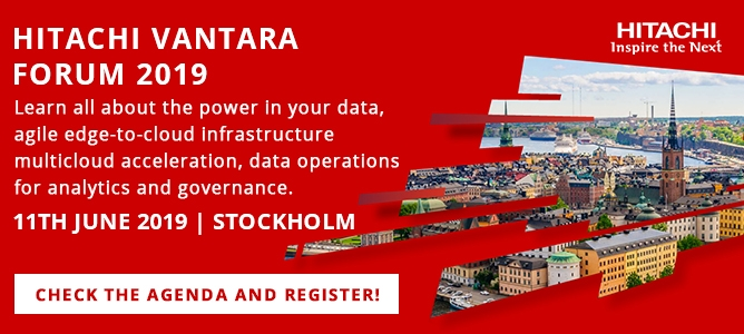 Hitachi Vantara Forum- your data your innovation 1