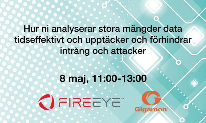 FireEye & Gigamon – Förhindra intrång och attacker genom automatiserade IT-lösningar