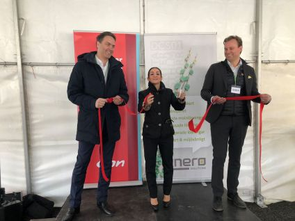 Binero Group och E.ON inviger miljösmart datacenter i Vallentuna 1