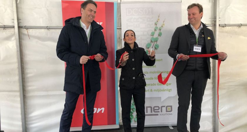 Binero Group och E.ON inviger miljösmart datacenter i Vallentuna