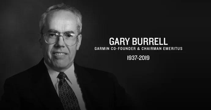 Gary Burrell – medgrundare av Garmin har gått bort