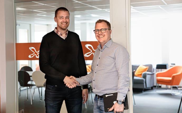 Softhouse Småland och DinGard etablerar samarbete för en säkrare affär