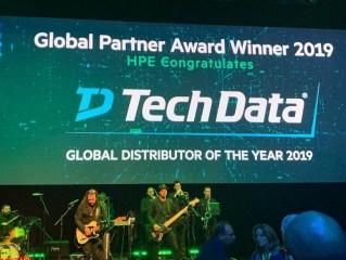 """Tech Data utsedd till """"2019 Global Distributor of the Year"""" av Hewlett Packard Enterprise 1"""