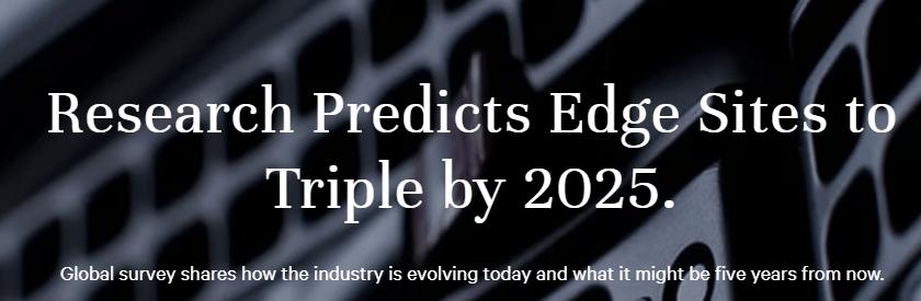 Edge Computing kommer att tredubblas 2025 enligt ny undersökning från Vertiv