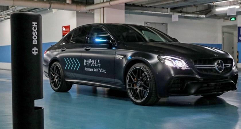 Bosch och Daimler godkänns för förarlös parkering utan mänskligt överinseende