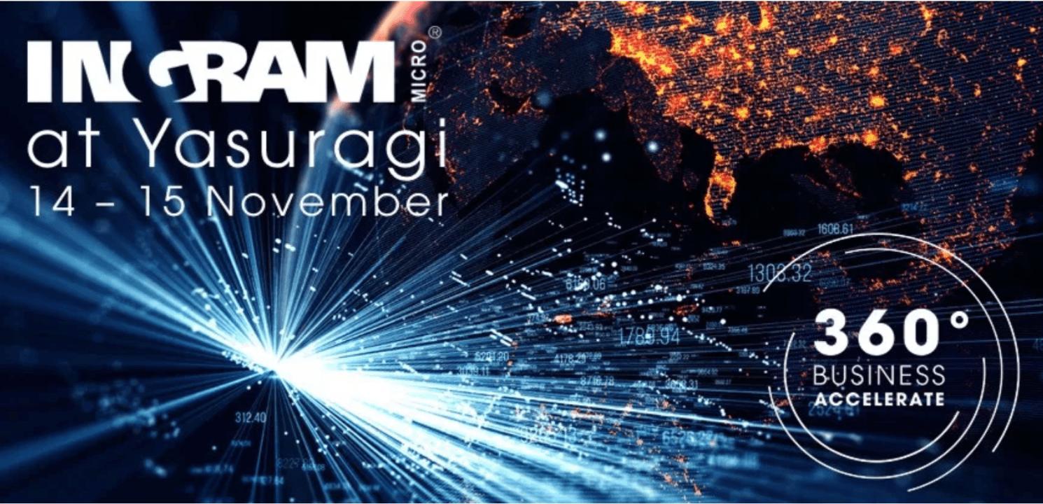 """Ingram Micro bjuder in partners och återförsäljare till ett event med fokus på tillväxt; """"360 Business Accelerate"""" 1"""