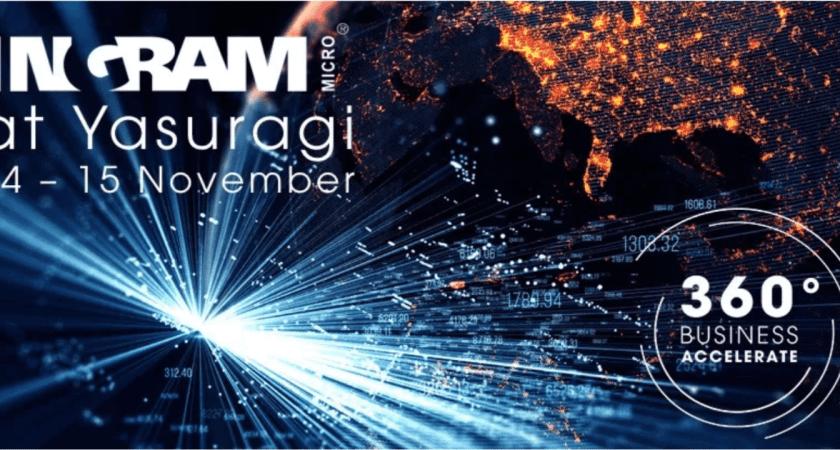 """Ingram Micro bjuder in partners och återförsäljare till ett event med fokus på tillväxt; """"360 Business Accelerate"""""""