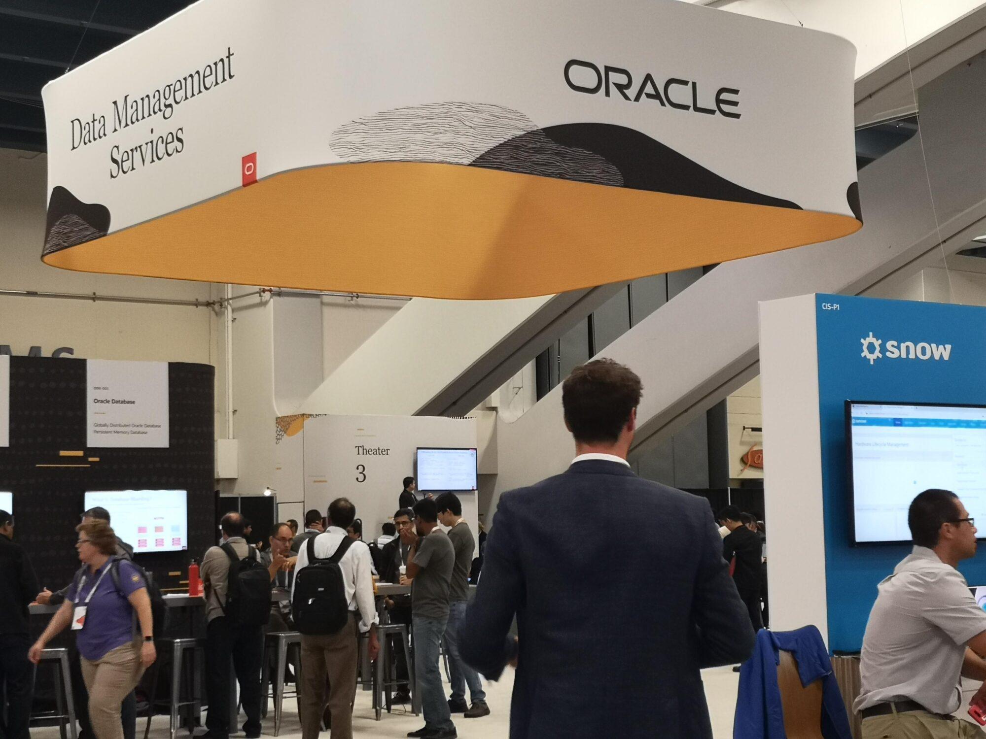 Oracles molnsatsningar ändrar om partnerledet 18