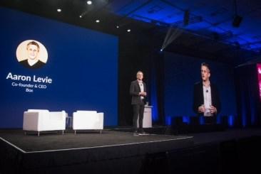 Affären just nu enligt BOX CEO Aaron Levie: hjälpa kunden säkra sitt innehåll 1