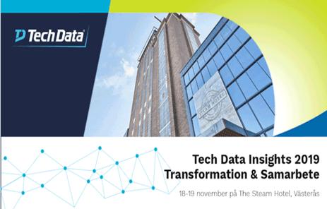 Välkommen till Tech Data Insights 2019