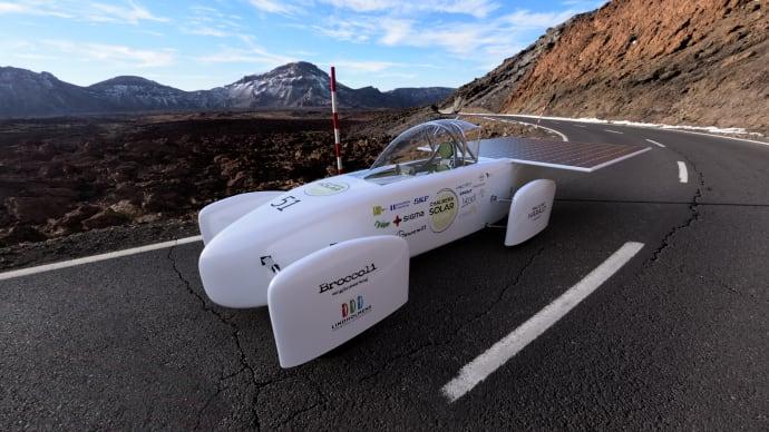 Sigma Sponsrar Chalmers Solar Team i Bridgestone World Solar Challenge 2019