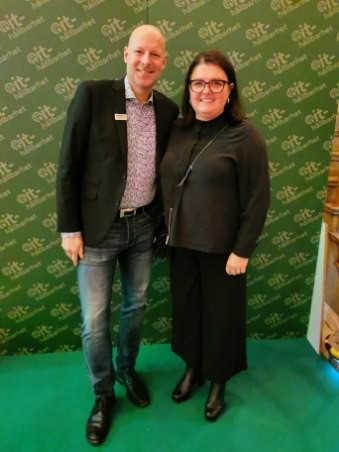 Stefan Nilssson Conapto med Joanna Nilsson KAM IT Media Group