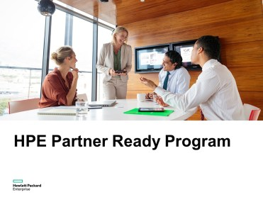 HPE Partner Ready Program 1