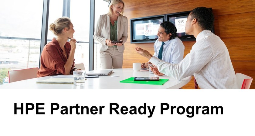 HPE Partner Ready Program