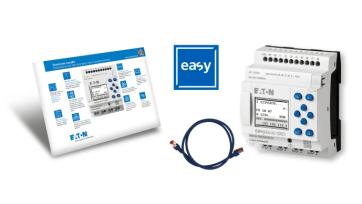 Eatons nya flerfunktionsrelä EasyE4 - kan integreras i IIoT 1