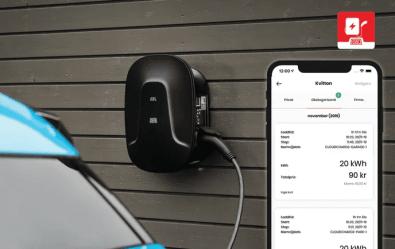 Ny smart laddstation och elbils-app ger vinst för tjänstebilsförare 1