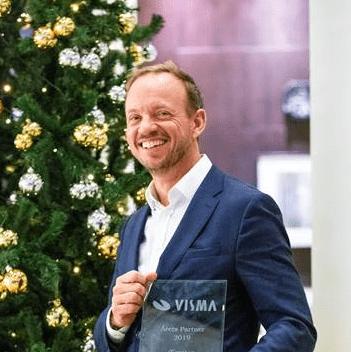 Exsitec utsedda till årets partner av Visma Software