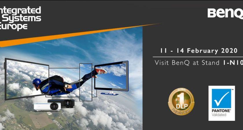 BenQ presenterar nya lösningar för företags- och utbildningssektorn på ISE 2020