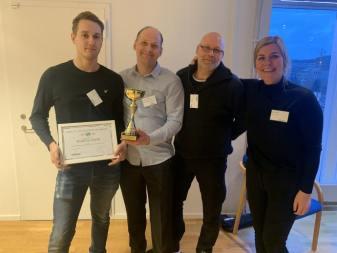Vechos tävling för sparsam körning sänkte utsläppen med 8 000 ton CO2 – svenska åkeri bland vinnarna 1