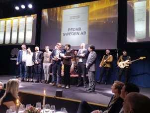 Boråsföretag vinnare av Gulddraken vid Huawei Nordic Partner Summit Horizon 1