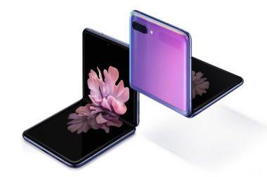 Nu lanseras Galaxy Z Flip – Samsungs första mobil med vikbar glasskärm 1