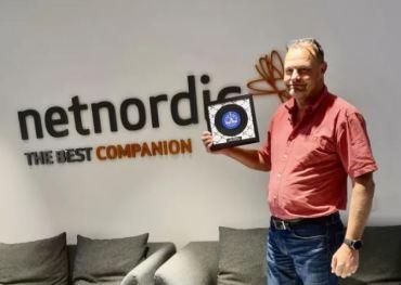 NetNordic tar emot utmärkelsen Nutanix Partner of the Year 1
