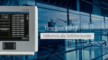 SoftOne inleder samarbete med TimeTerminal 1