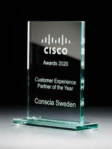 Conscia Sverige utsett till Cisco Customer Experience Partner of the Year för andra året i rad 2