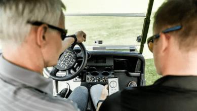 AI på armen vässar golfswingen 1