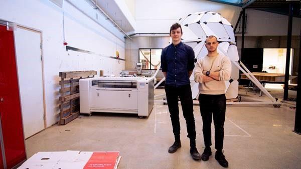 Lenovo hjälper danska rymdarkitekter bygga en bostad för månen