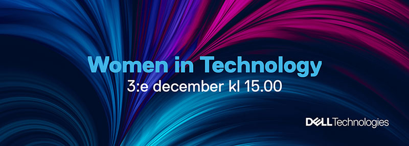 Välkommen till ett inspirationswebinar med Women in Technology 1