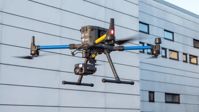 Telia testar livestreaming för drönare