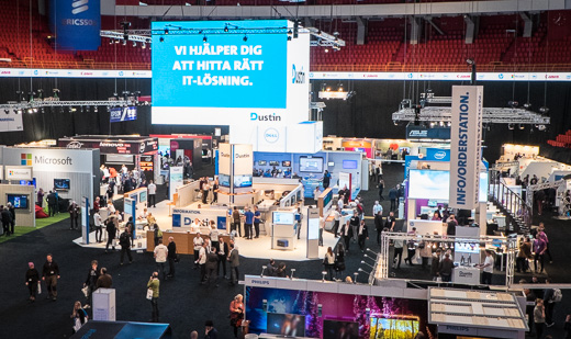 Dustin Expo lyfter 80 leverantörer i Globen
