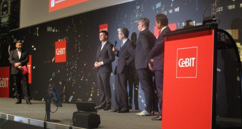 IT-Kanalen var på den enorma årliga Hannovermässan, gällande CeBIT 2017 och om digitaliseringen