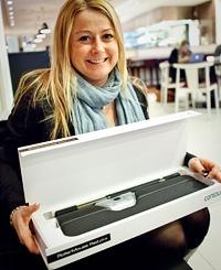 Jessica Widlund på Contour Design i Sverige.