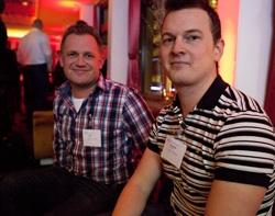 Magnus och Christoffer från VMI Internet Services i Norrtälje.
