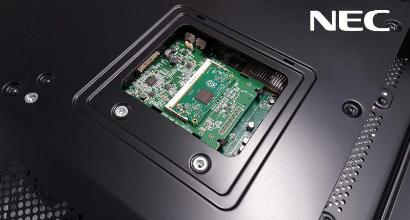 NEC Display Solutions och Raspberry Pi i nytt samarbete